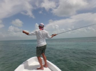 fly fishing boat