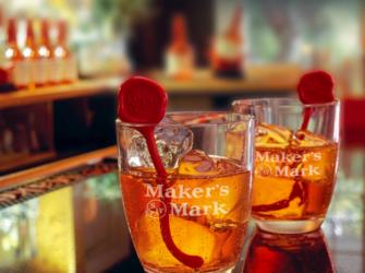 glasses of Maker's Mark