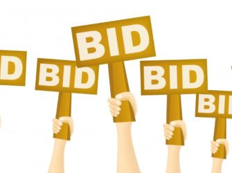 auction bidding signs