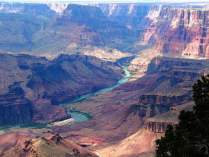 Beautiful shot of the Grand Canyon